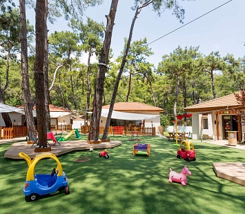Sport Camp World Class в Турции, отель Club Med Palmiye 5* (Кемер)